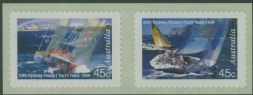 AUS SG1493-4 50th Sydney to Hobart Yacht Race self-adhesives set of 2